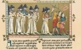 Els flagel·lants a Doornik el 1349