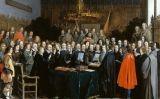 'La ratificació del tractat de Münster' del pintor Gerard ter Borch
