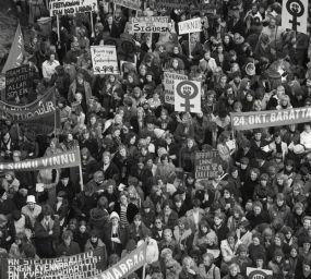 El 24 d'octubre de 1975, les dones islandeses van dir 'Prou'