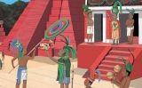 Maies, els senyors de la selva (il·lustració del número 13 del Petit SÀPIENS)
