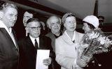 Jean-Paul Sartre i l'escriptora Simone de Beauvoir