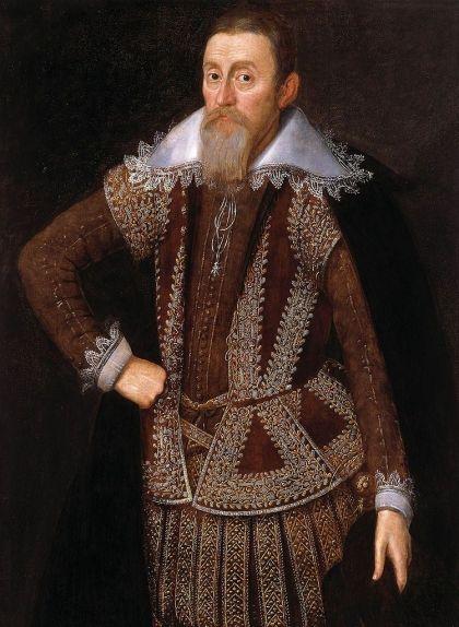 Retrat de Lord Monteagle, de John de Critz