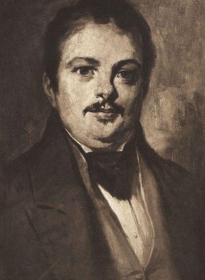 Retrat d'Honoré de Balzac