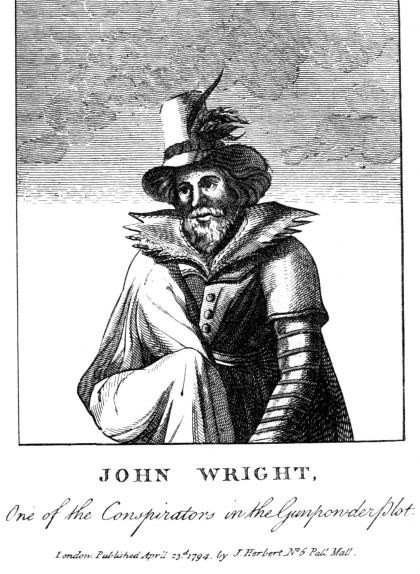 John Wright, un dels integrants del complot