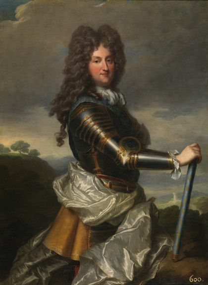 El duc d'Orleans retratat per Jean Baptiste Santerre