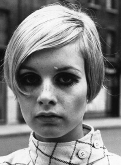La model Twiggy va popularitzar l'estil 'garçon' durant els anys 60