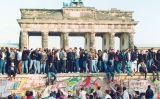 la caiguda del mur de Berlín, l'any 1989