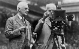 George Eastman i Edison amb una càmera Kodak -  George Eastman Museum