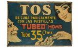 Anunci de les pastilles contra la tos Homs