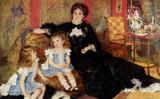 El quadre 'Madame Charpentier amb els seus fills' (1878), de Renoir