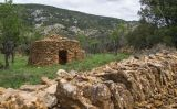 Construcció de pedra seca a Vilafranca