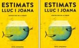 Portada del recull de contes 'Estimats Lluc i Joana', d'Oriol Junqueras