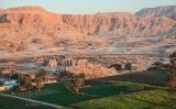 Vista aèria de la Vall dels Reis, a Egipte