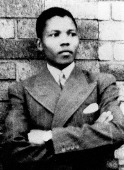 Nelson Mandela als 19 anys