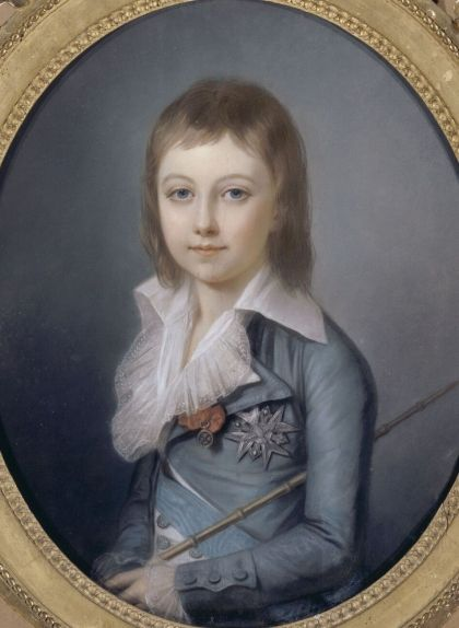 Retrat de Lluís XVII fet pel pintor Alexandre Kucharsky