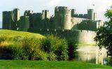 El castell de Caerphilly