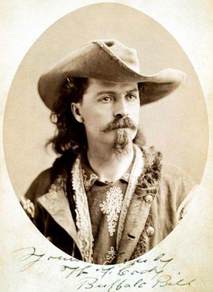 Retrat de Buffalo Bill