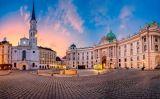 La plaça de Sant Miquel de Viena