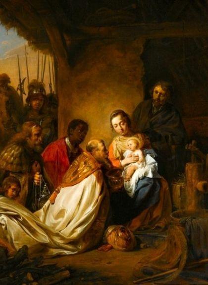 'L'adoració dels Reis Mags', de Jan de Bray