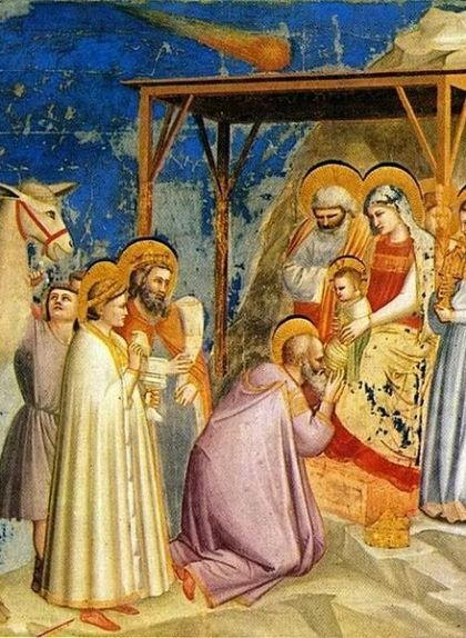 'L'adoració dels Reis Mags', de Giotto di Bondone