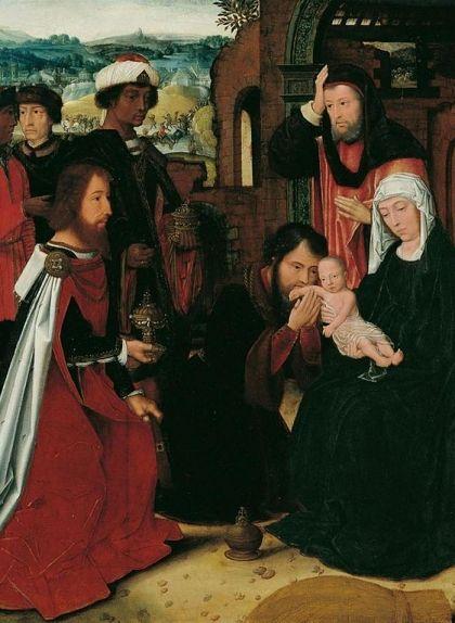 'L'adoració dels Reis Mags', d'Ambrosius Benson
