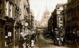 Fotografia de 1890 de Fleet Street (Londres)