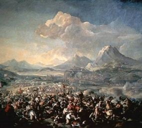 La batalla de Montjuïc, de Pandolfo Reschi