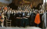 'La ratificació dels tractats de Münster i Osnabrück', de Gerard ter Borch