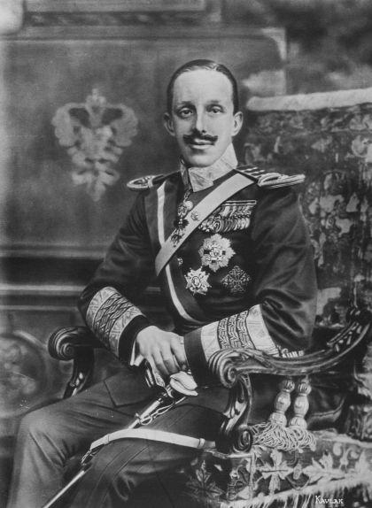 Retrat d'Alfons XIII