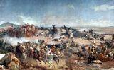 Detall del quadre 'Batalla de Tetuan', de Marià Fortuny
