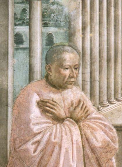 Giovanni Tornabuoni, fresc de la capella Tornabuoni a Florència, de Domenico Ghirlandaio