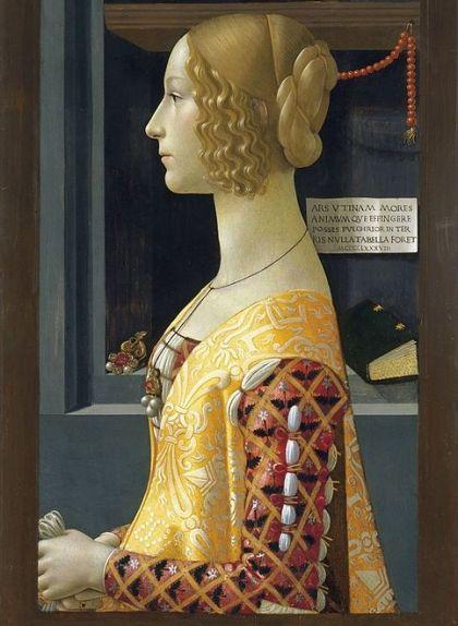 Retrat de Giovanna Tornabuoni de Domenico Ghirlandaio
