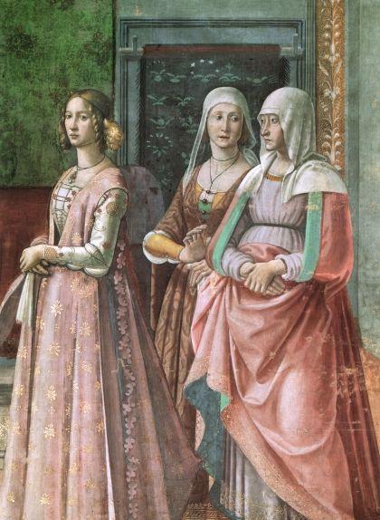 Giovanna, a la capella Tornabuoni, a Florència