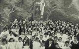 L'Orfeó Barcelonès el 1912 (fotografia de Rozas a la revista 'El Teatre Català' del 7 de setembre de 1912)