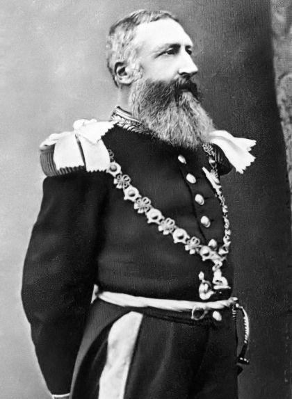 Retrat del rei Leopold II