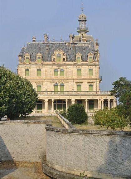 El castell d'Aubiry, a Ceret