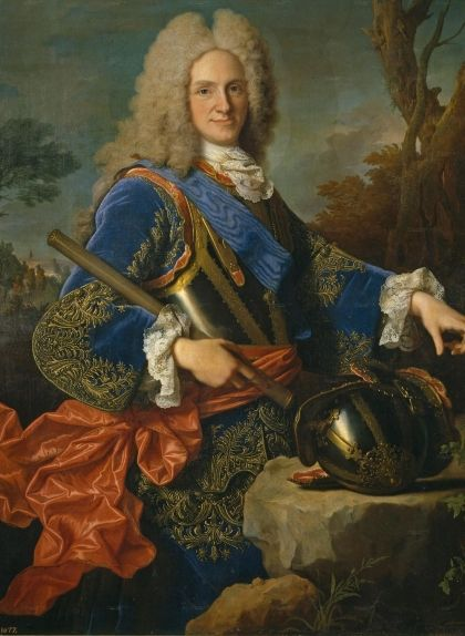 Retrat de Felip V fet pel pintor francès Jean Ranc l'any 1723