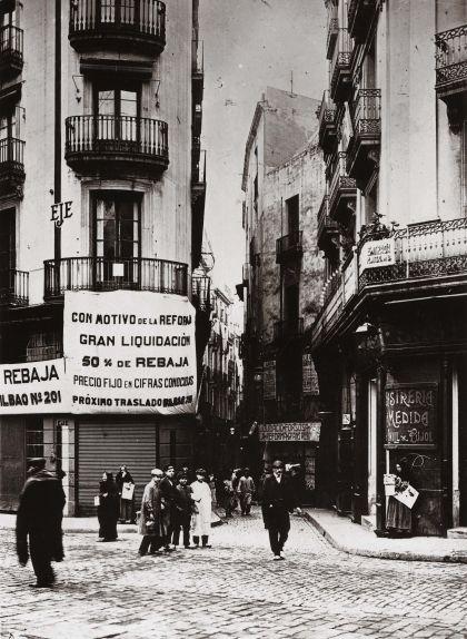 Barcelona abans de la construcció de la Via Laietana