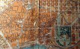 Plànol de la Ciutat Vella de Barcelona abans d'obrir-se la Via Laietana