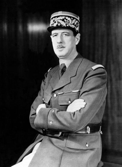Retrat del general Charles de Gaulle de l'any 1942