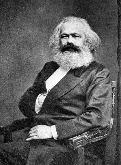 Retrat de Karl Marx (1818-1883)