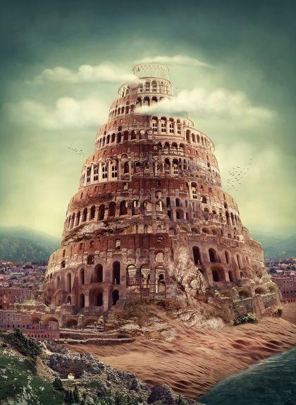 Representació de la torre de Babel