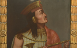 Retrat d'Atahualpa que es conserva al museu de Quai Branly
