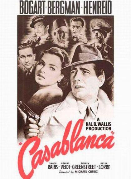 Cartell de la pel·lícula 'Casablanca'