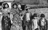Família gitana a Agram (actual Zagreb), el 1941