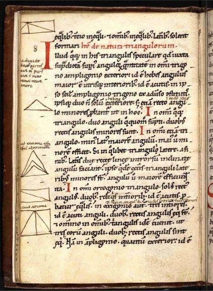 Tractat sobre la geometria de Gerbert d'Orlhac, del segle XII