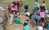 Activitat 'Fes d'arqueòleg', a Ullastret