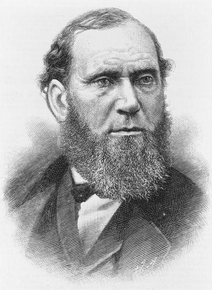 Retrat d'Allan Pinkerton, de l'any 1884