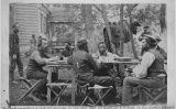 Allan Pinkerton amb els seus homes a prop de Cumberland, Virgínia, l'any 1862
