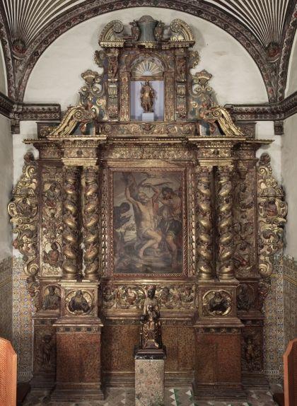 Retaule de Sant Bartomeu de l'església del monestir de Sant Cugat